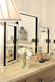 modern design beautiful glass venetian dressing table mirror 1ft10