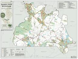 Massachusetts County Map by Buy An Ecta Trail Map Essex County Trail Association