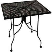 36 Inch Patio Table Metal Mesh Patio Tables Metal Mesh Outdoor Furniture