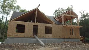post and beam home under construction part 6