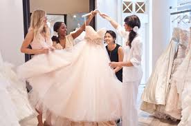 wedding dress shopping dress shopping chicago wedding