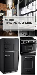 painting kitchen kitchen appliances retro appliances black appliances color to