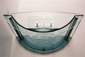 transparent bathtub prizmastudio prizma presents a complete glass bathroom collection