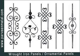 wrought iron panels ornamental iron panels gate fencing