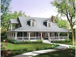 farmhouse with wrap around porch wrap around porch house plans for a traditional exterior farm with