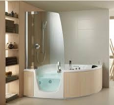 Bathtub Cutaway Shower Room Design