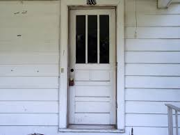 antique pictures of front doors on houses with square glass