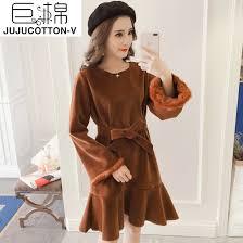 giant cotton 2017 winter new korean style long sleeved rabbit