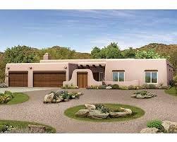 southwest style house plans plan 81387w pueblo style ranch home plan southwest style house