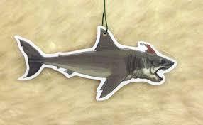jaws shark ornament