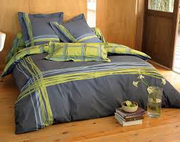 bedroom fairly light grey bed sheets in yellow green and steal