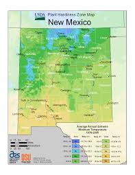 Mexico Climate Map by Santa Fe U0027s Designation In Usda U0027s 2012 Plant Hardiness Zone Map