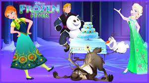 frozen fever princess anna u0027s birthday party disney holiday card