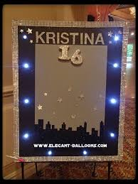 birthday signing board sign in board for sweet 16 balloons sweet