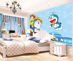Cartoon Wall Painting In Bedroom Online Get Cheap Wallpaper Doraemon Aliexpress Com Alibaba Group