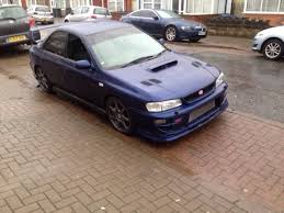 subaru modified used subaru impreza turbo 2000 modified 300 340bhp in b33