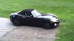 saturn sky coupe saturn sky black out youtube
