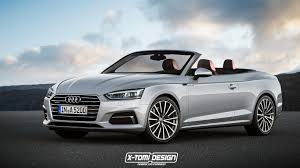 audi convertible 2017 audi a5 sportback and convertible will look like this