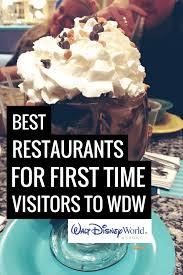 disney world restaurants for first time visitors