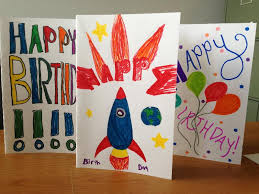 birthday cards for kids handmade greeting cards by kids volunteer foundation for foster