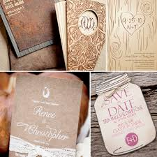 unique wedding invitation ideas rustic wedding invitation ideas 001 weddings by lilly