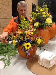How To Make Floral Arrangements How To Make Pumpkin Floral Arrangements Homeec Home