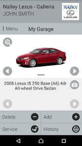 lexus galleria nalley lexus galleria android apps on play