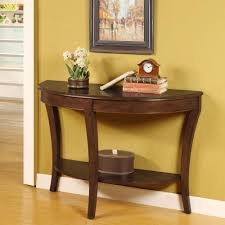 Living Room Accent Tables Great Half Circle Accent Table With Living Room Awesome Half Moon