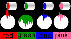 colour color colors for children and kids learn nursery basic color names with