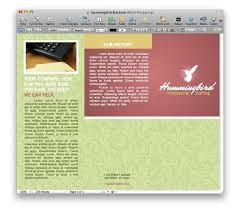 Brochure Templates For Pages brochure templates for pages diversify your pages templates macworld