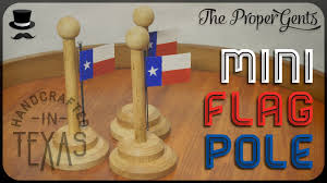 Miniature Flags Mini Flag Pole Youtube