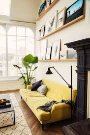 Anthropologie Inspired Living Room by Best 25 Yellow Couch Ideas On Pinterest Bohemian Interior