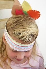 thanksgiving tie thanksgiving kids craft idea native american headdress ella and