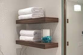 Contemporary Bathroom Shelves Floating Shelves Bathroom Gorgeous Trend Modern Bathroom
