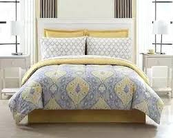 Yellow And Grey Bed Set Gray And Yellow Bedding Sets Pieces Yellow Grey White Comforter