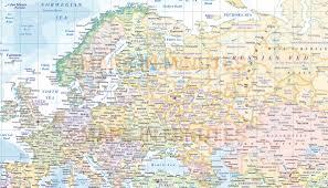 Bishkek Map Digital Vector Europe Political Map With Insets And Ocean Floor