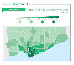 1 Bedroom Rent Toronto The Cheapest And Most Expensive Toronto Neighborhoods To Rent This