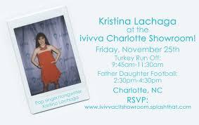 thanksgiving parade charlotte nc 11 25 meet kristina lachaga at the ivivva charlotte showroom
