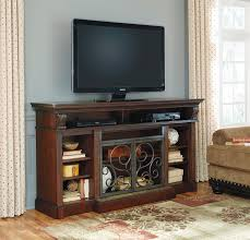 alymere rustic brown xl tv stand for 645 00 furnitureusa