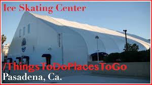 pasadena ice skating center u0026 hockey rink at convention center