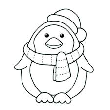 cute winter coloring pages coloring page penguin penguins winter coloring page for adults