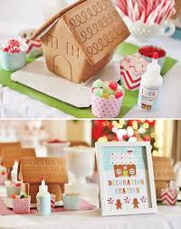 Gingerbread House Decoration Delightfully Sweet Gingerbread House Decorating Party Hostess