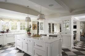 classic black and white kitchen home design ideas