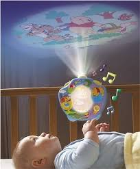 childrens night light projector winnie the pooh baby cot music mobile nursery night light projector