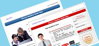 landing page templates for blogger free landing page templates