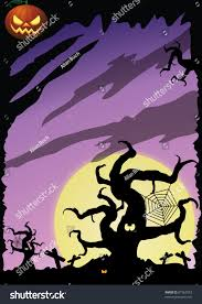 halloween background with purple halloween background purple stock illustration 87363553 shutterstock