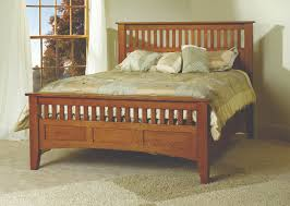 Antique Mission Style Bedroom Furniture Mesa Verde Bed Gish U0027s Amish Legacies