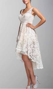 ivory lace v neck high low bridesmaid dresses ksp256 ksp256