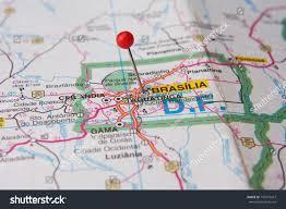 city map of brazil map up city brasilia stock photo 737610427
