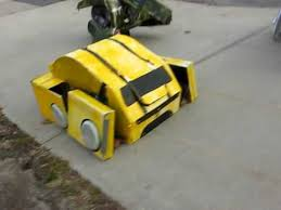 Motorcycle Halloween Costume Homemade Transforming Transformers Halloween Costume